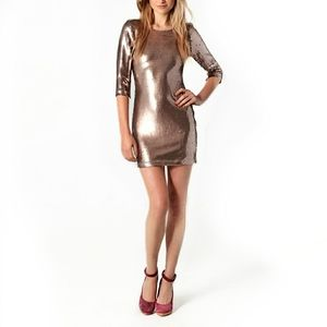 Nwt 3/4 Sleeve sequin cocktail/party dress